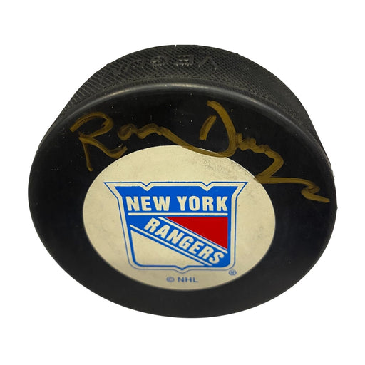 Ron Duguay Autographed Hockey Puck - Pastime Sports & Games