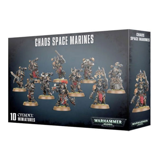 Warhammer 40,000 Chaos Space Marines (43-06) - Pastime Sports & Games