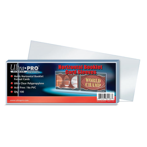 Ultra Pro Sleeve Series Horizontal Booklet Card Sleeves - Pastime Sports & Games