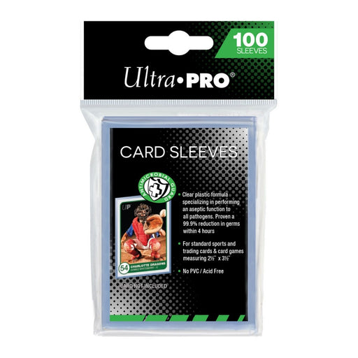 Ultra Pro Antimicrobial Guard Card Sleeves - Pastime Sports & Games