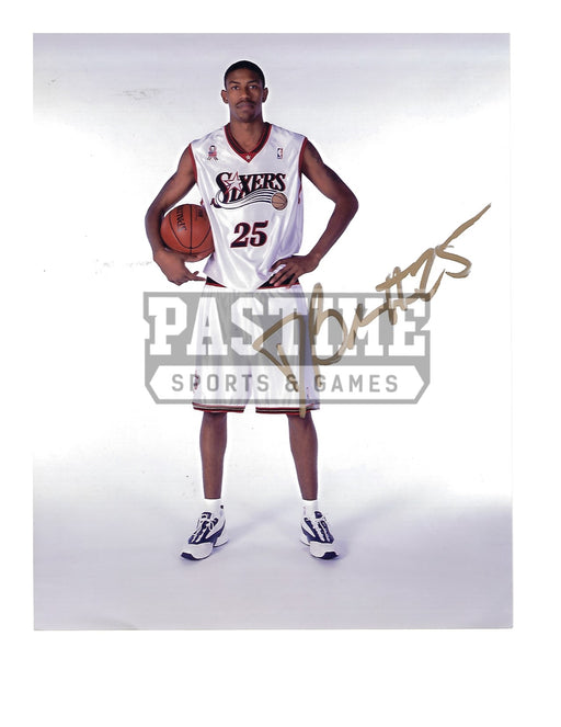 Damone Long Autographed 8X10 Philadelphia 76ers (Pose) - Pastime Sports & Games