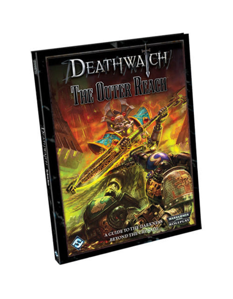 Warhammer 40,000 Roleplay Deathwatch The Outer Reach - Pastime Sports & Games