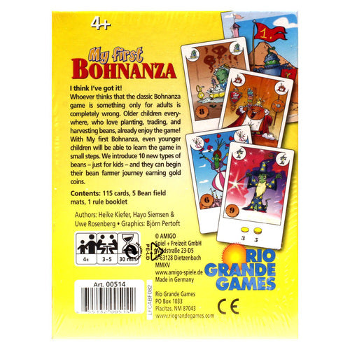 My First Bohnanza - Pastime Sports & Games