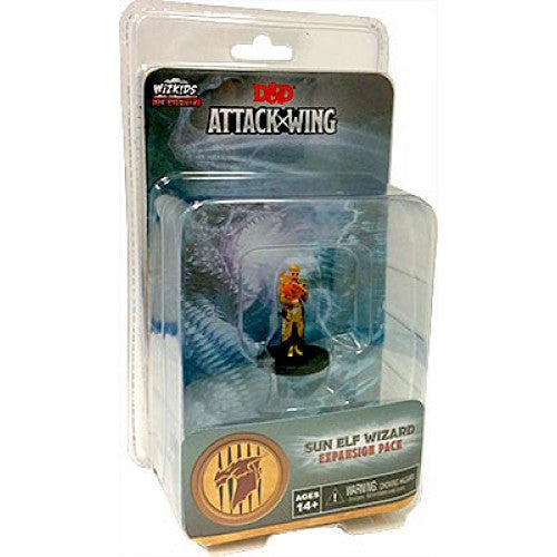 D&D Attack Wing Sun Elf Wizard Expansion Pack - Pastime Sports & Games