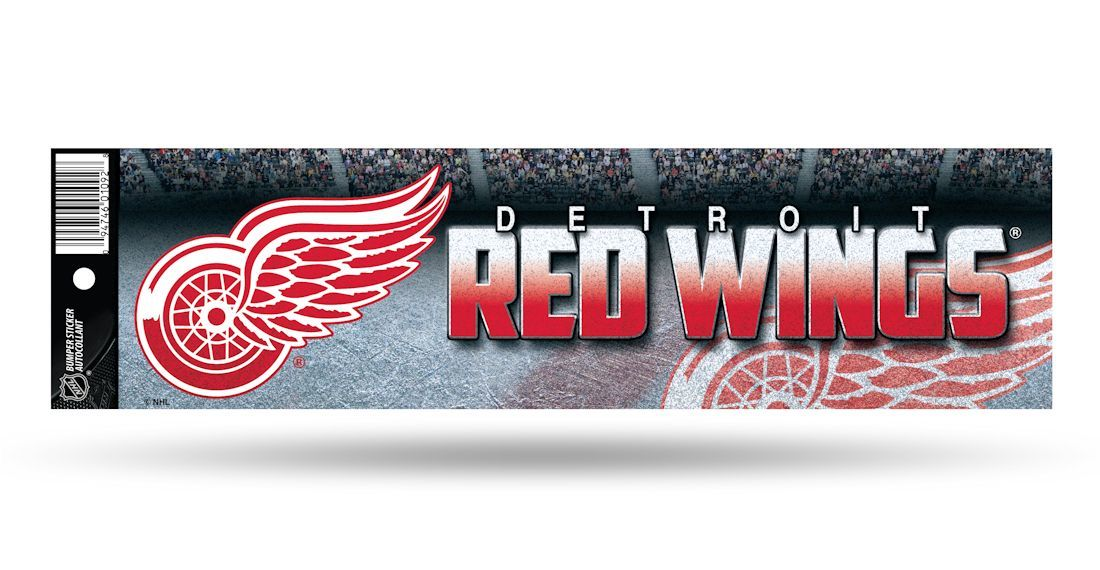 NHL Redwings Sticker - Pastime Sports & Games