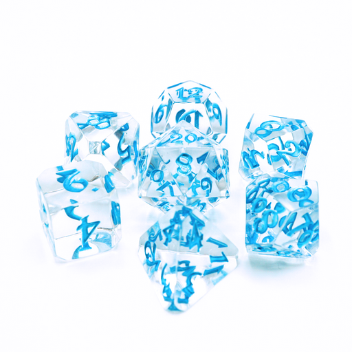 Die Hard Dice 7pc Avalore RPG Dice Set - Isa Magick - Pastime Sports & Games