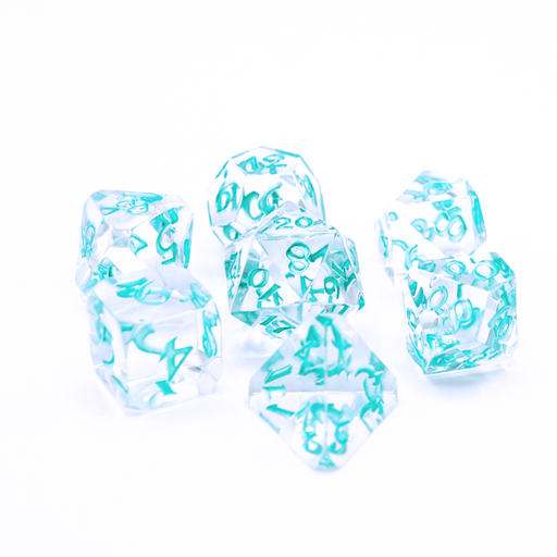 Die Hard Dice 7pc Avalore RPG Dice Set - Isa Restoration - Pastime Sports & Games
