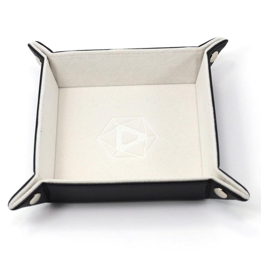 Die Hard Folding Square Dice Tray Cream Velvet - Pastime Sports & Games