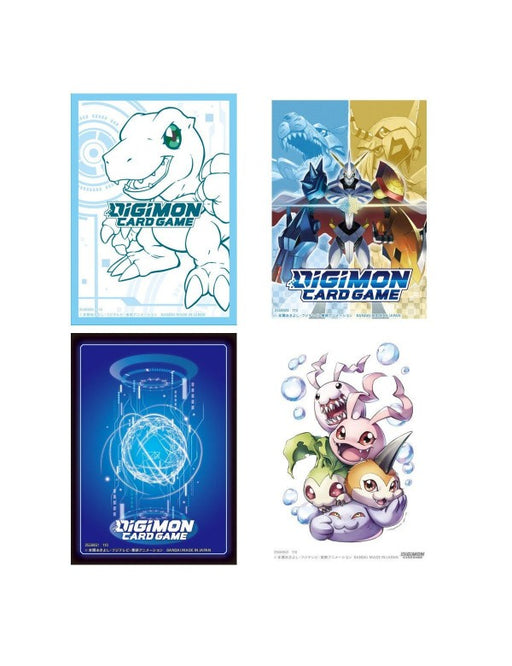 Digimon Official Card Sleeves - Pastime Sports & Games