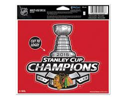 Blackhawks Stanley Cup Ultra Decal