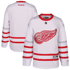 2016/17 Detroit Red Wings Reebok Centennial Classic White Jersey - Pastime Sports & Games