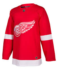 2017/18 Detroit Red Wings Adidas Home Red Jersey - Pastime Sports & Games