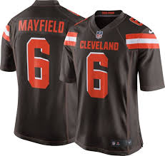 Baker Mayfield Cleveland Browns Home Football Jersey Nike - Pastime Sports & Games