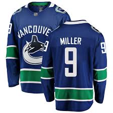 JT Miller Autographed Vancouver Canucks Home Jersey Adidas - Pastime Sports & Games