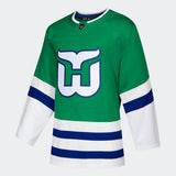 2020/21 Carolina Hurricanes Alternate Home Whalers Hockey Jersey (Adidas Green) - Pastime Sports & Games