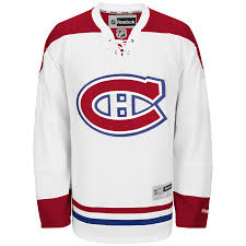 2016/17 Montreal Canadiens Reebok Away White Jersey - Pastime Sports & Games