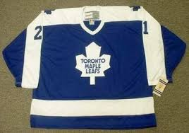 1978/79 Toronto Maple Leafs Borje Salming CCM Home Blue Jersey - Pastime Sports & Games