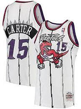1995/96  Damon Stoudamire Toronto Raptors Home Basketball Jersey (Purple Mitchell & Ness) - Pastime Sports & Games