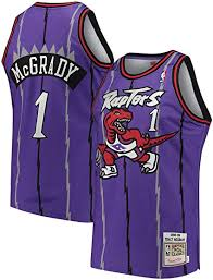 1998/99 Tracy McGrady Toronto Raptors Home Basketball Jersey (Purple Mitchell & Ness) - Pastime Sports & Games