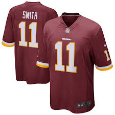 Alex Smith Washington Redskins Home Football Jersey (Red Nike) - Pastime Sports & Games