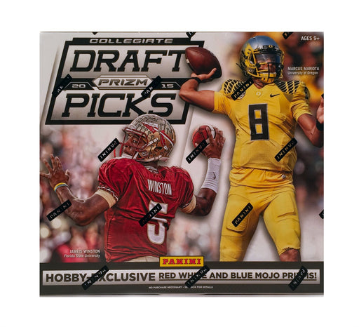 2015 Panini Prizm Collegiate Draft Picks Football Hobby