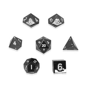 Norse Foundry 7pc RPG Alloy Set Drow Black - Pastime Sports & Games
