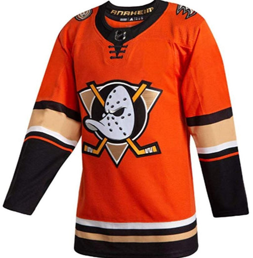 2019/20 Anaheim Ducks Adidas Home Alternate Orange Jersey - Pastime Sports & Games