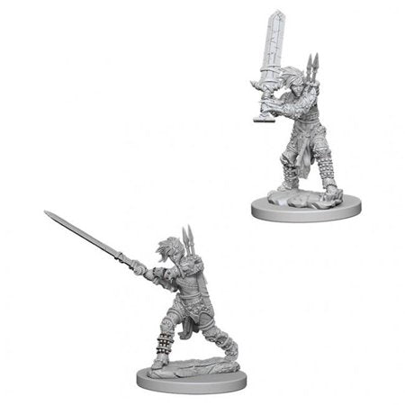 Pathfinder Battles Deep Cuts Unpainted Miniatures Female Human Barbarian - Pastime Sports & Games