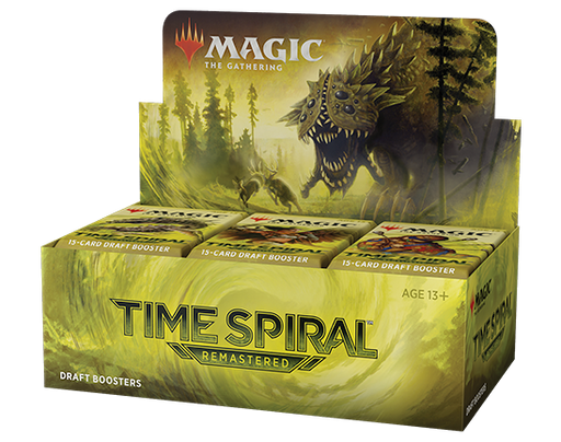 Magic the Gathering Time Spiral Remastered Draft Booster - Pastime Sports & Games