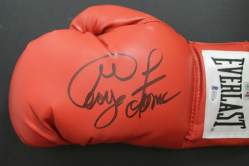 George Foreman Red Autographed Everlast Boxing Glove - Pastime Sports & Games