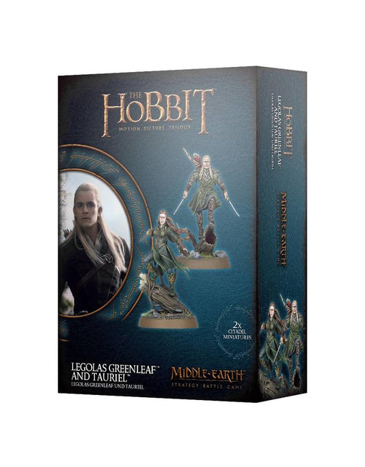 Middle Earth Stratagey Battle Game The Hobbit Legolas Greenleaf And Tauriel (30-41)