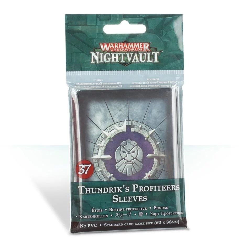 Warhammer Nightvault Standard Size Sleeves - Pastime Sports & Games