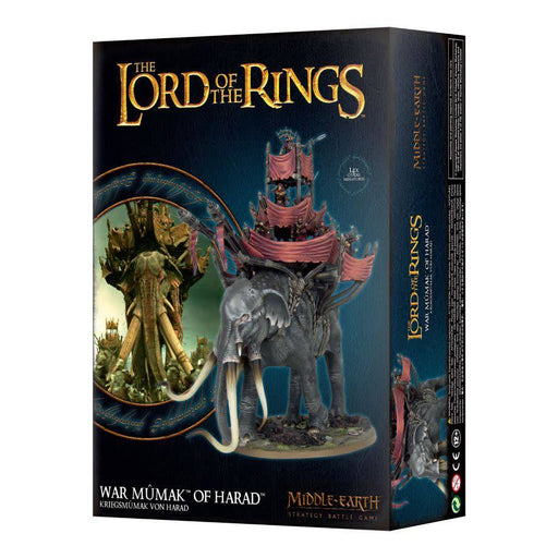 Middle Earth Stratagey Battle Game The Lord of The Rings War Mumak Of Harad (30-24) - Pastime Sports & Games