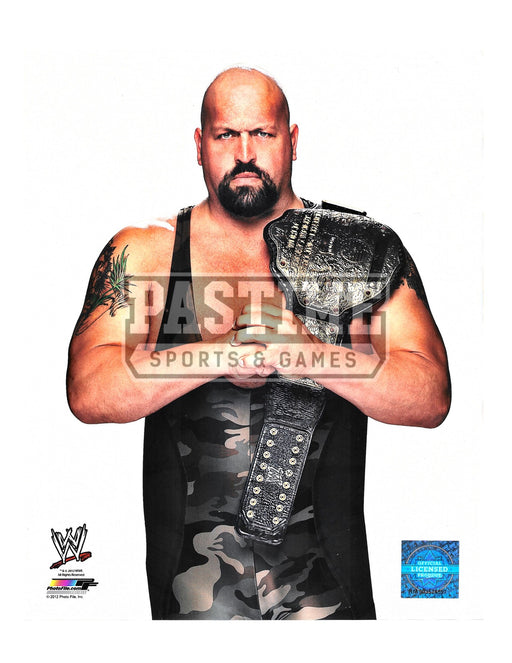 Big Show Wrestling 8X10 Photo (Holding Fists) - Pastime Sports & Games