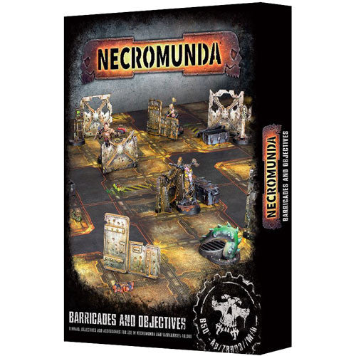 Necromunda Barricades And Objectives (300-04) - Pastime Sports & Games