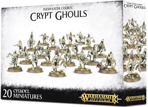 Warhammer Age Of Sigmar Flesh-Eater Courts Crypt Ghouls (91-12) - Pastime Sports & Games