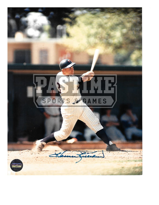Harmon Killebrew Autographed 8X10 Minnesota Twins (Swinging Bat) - Pastime Sports & Games