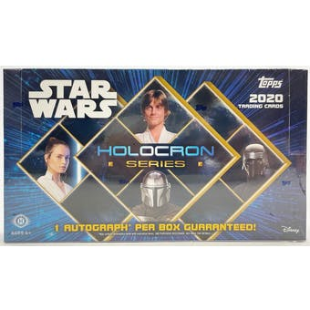 2020 Topps Star Wars Holocron Hobby Box - Pastime Sports & Games