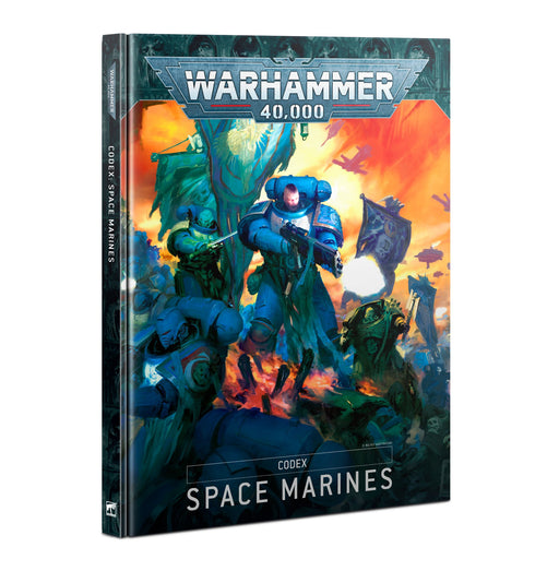 Warhammer 40,000 Codex Space Marines (48-01) - Pastime Sports & Games