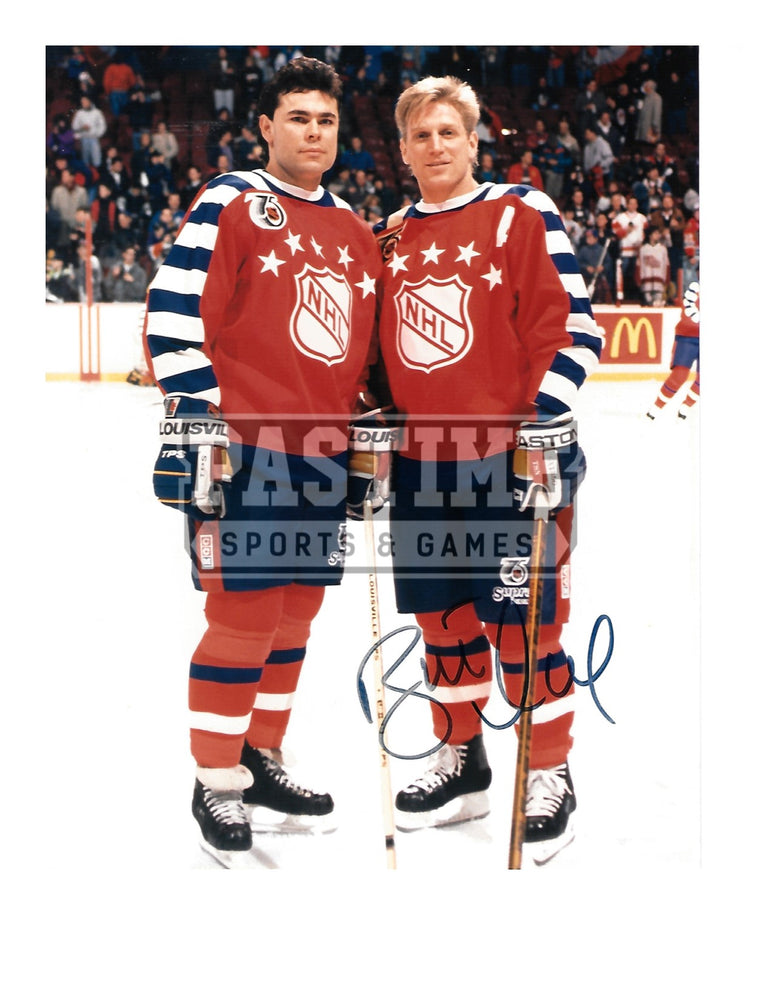 Brett Hull Autographed 8X10 NHL (Pose) - Pastime Sports & Games
