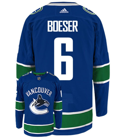 2017-19 Vancouver Canucks Brock Boeser Adidas Home Blue Jersey