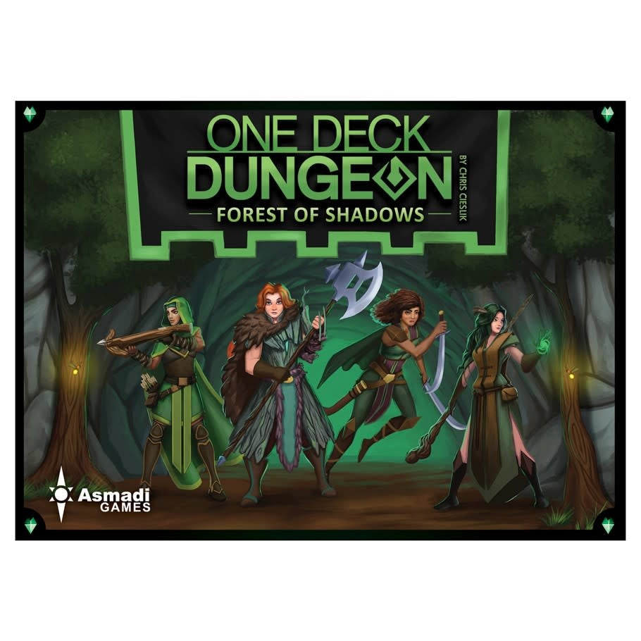 One Deck Dungeon Forest of Shadows - Pastime Sports & Games