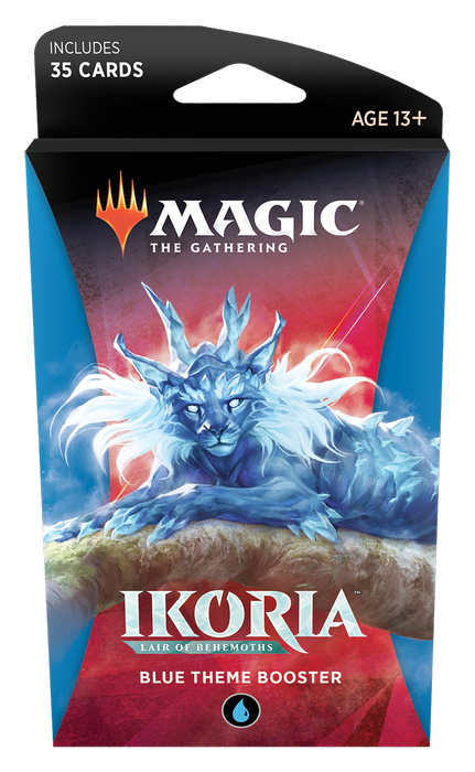Magic The Gathering Ikoria Lair Of Behemoths Theme Booster - Pastime Sports & Games