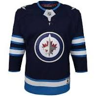 Winnipeg Jets Youth Home Blue Jersey