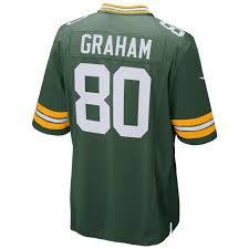 Jimmy Graham Green Bay Packers Football Jersey (Home Green Nike) - Pastime Sports & Games