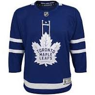 Toronto Maple Leafs Youth Home Hockey Jersey (Blue Outerstuff) - Pastime Sports & Games