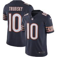 Mitchell Trubisky Chicago Bears Home Jersey (Blue Nike) - Pastime Sports & Games