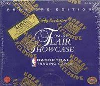 1996/97 Fleer Flair Showcase Basketball Hobby - Pastime Sports & Games