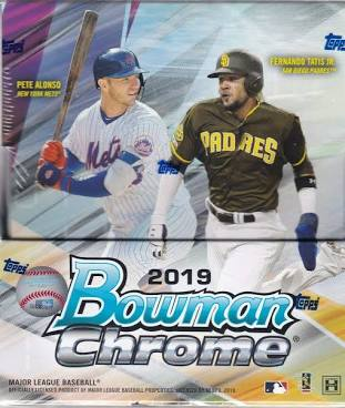 2019 Topps Bowman Chrome Baseball Hobby - Pastime Sports & Games