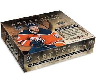 2019/20 Upper Deck Artifacts Hockey Hobby - Pastime Sports & Games
